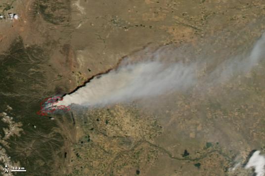 High Park Fire in Colorado